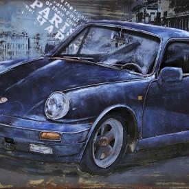 Blue Sportcar